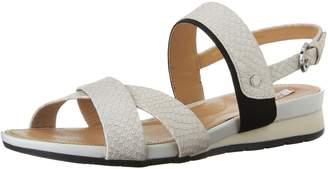 Geox Women's D Formosa B Flat Heel Sandal