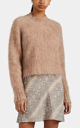 Ksubi Women's Fuzzy Wool-Blend Mock-Turtleneck Sweater - Beige, Tan