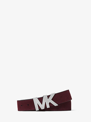 Michael Kors Suede Logo Belt