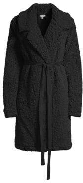 Splendid Faux Sherpa Robe Coat
