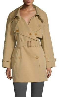 Burberry Fortingall Gabardine Trench Coat
