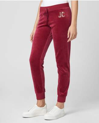 Juicy Couture Sequin Dripping Juicy Velour Zuma Pant