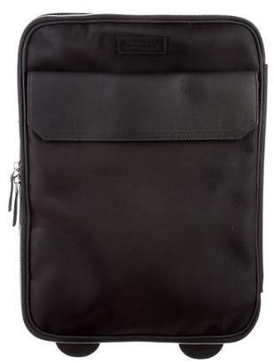 Versace Leather-Trimmed Trolley Bag w/ Tags