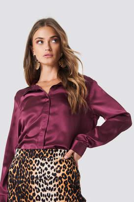 Rut & Circle Rut&Circle Rebecka satin shirt