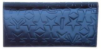 Givenchy Stars Embossed Leather Wallet