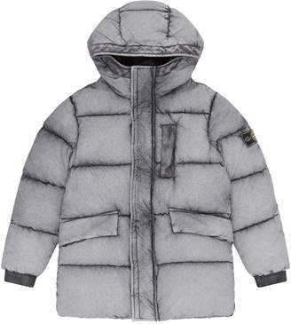 Stone Island Junior Frosted Padded Coat