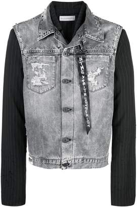 Faith Connexion contrast blazer jacket