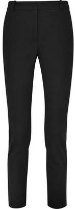 Joseph Zoom Cropped Stretch-gabardine Slim-leg Pants - Black