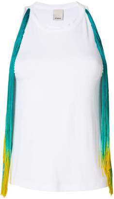 Pinko fringed top