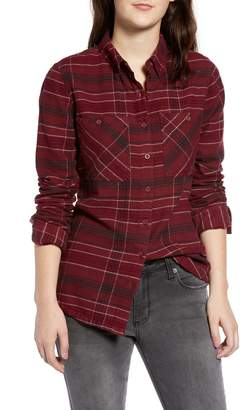 RVCA Roam Plaid Flannel Shirt
