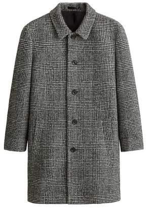 Mango man MANGO MAN Prince of Wales checked wool coat