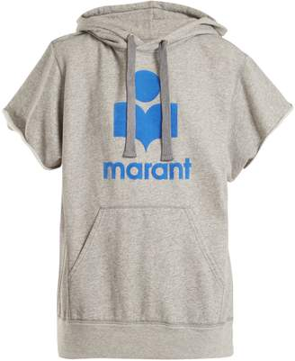 Etoile Isabel Marant Milesy logo-appliqué cotton-blend sweater
