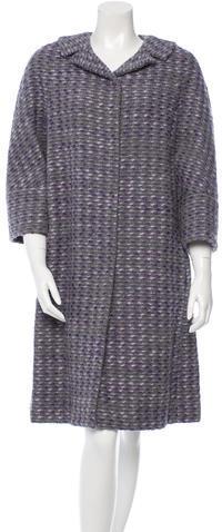 ValentinoValentino Wool Knee-Length Coat