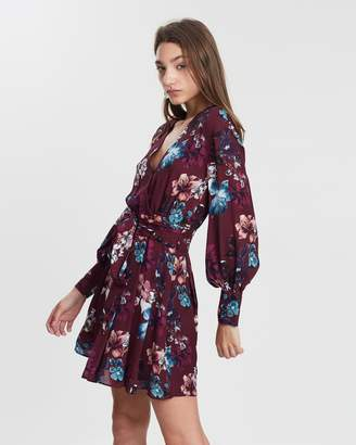 Nicholas Floral Wrap Dress