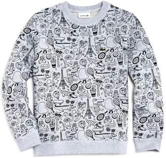 Lacoste x Omy Boys' Graphic Sweatshirt