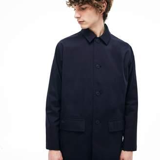 Lacoste Men's Detachable Hood Raincoat