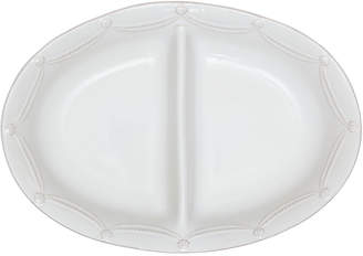 Juliska Berry & Thread Whitewash Divided Serving Bowl