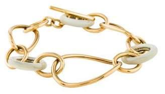 Faraone Mennella 18K Mother of Pearl Link Bracelet