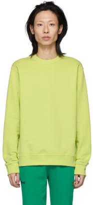 Kenzo Yellow Logo Sweatshirt