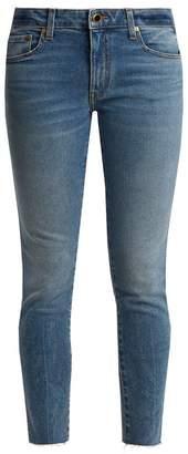 Khaite - Alissa Mid Rise Slim Leg Boyfriend Jeans - Womens - Mid Denim