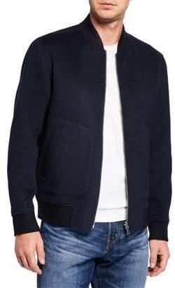 Theory Men's Tokyo Double Bicolor Jorge Bomber Jacket