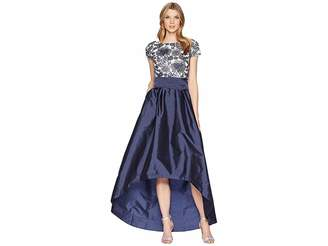 Adrianna Papell Long High-Low Dress