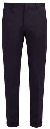 Paul Smith Classic Stretch Cotton Chino Trousers - Mens - Navy