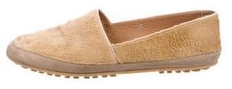 Maison Margiela Ponyhair Round-Toe Loafers