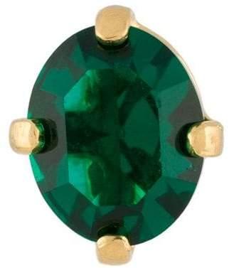 Wouters & Hendrix A Wild Original! emerald crystal stud earring