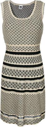 M Missoni metallic fitted knit dress