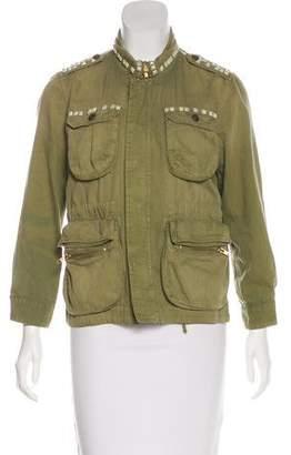Current/Elliott Studded Casual Jacket