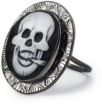 Vintouch Italy - Rocker Skull Cameo Ring