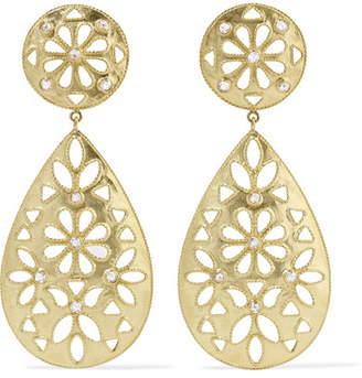 Amrapali Shevanti 18-karat Gold Diamond Earrings