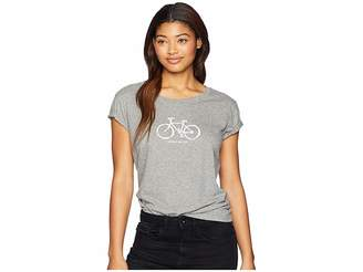 Life is Good Mobile Device Bike Breezy T-Shirt
