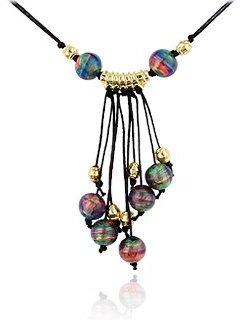 Antica Murrina Veneziana Tahiti - Murano Glass Bead Drop Necklace