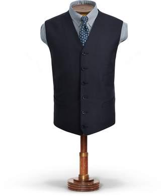 Ralph Lauren Birdseye Wool Vest