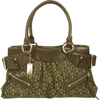 Donna Karan Brown Cloth Handbag