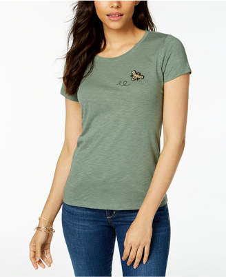 Maison Jules Bee Patch T-Shirt, Created for Macy's
