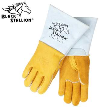 Black Stallion Revco 850 Flame Resistant Nomex Lined Elkskin Stick Welding Gloves