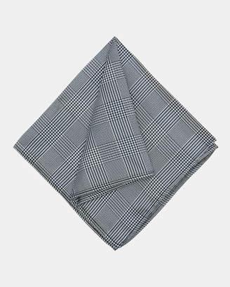 Oxford Pocket Square Silk Check