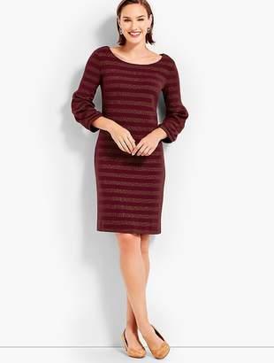 Talbots Twinkling Stripe Shift Dress
