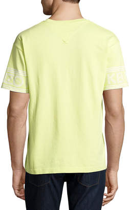 Kenzo Logo-Sleeve Crewneck T-Shirt