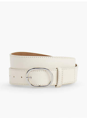 Talbots Pebble Leather Belt