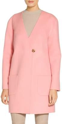 St. John Doubleface Angora Cashmere Jacket