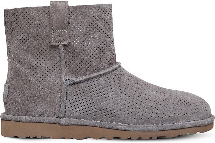 UGGUgg Classic Unlined Mini Perf ankle boot