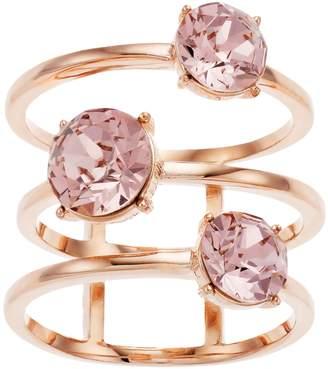 Brilliance+ Brilliance 3-Tier Ring with Swarovski Crystal