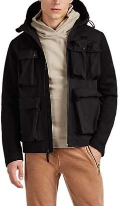 Isaora Men's Zurs Hooded Field Jacket - Black