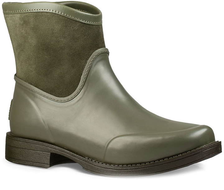 UGG Burnt Olive Paxton Suede Ankle Boot - Women