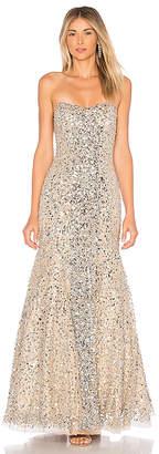 Parker Black Renee Embellished Gown