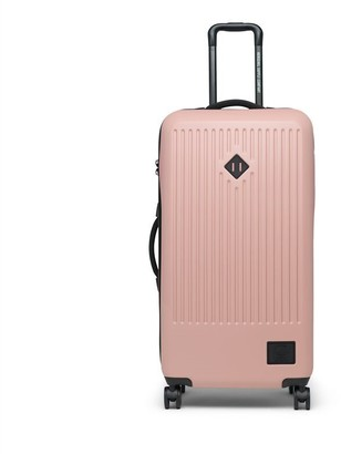 Herschel Supply Company Ltd FOUR-WHEEL TRADE LARGE HARD SHELL LUGGAGE - ASH ROSE